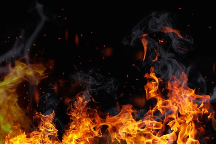 Bijna brand