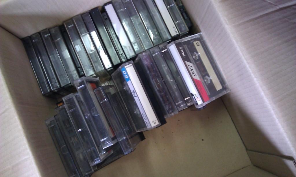 Ook op cassette!!!!